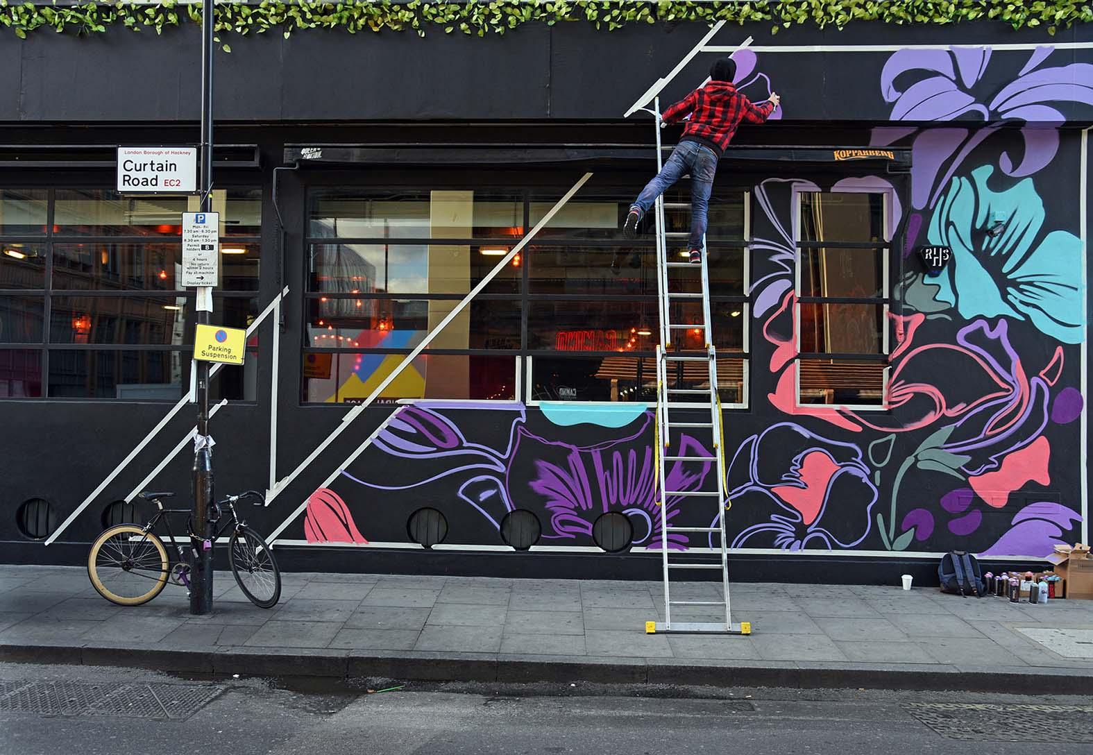 Nerone,street-art-queen-o-hoxton-london 1