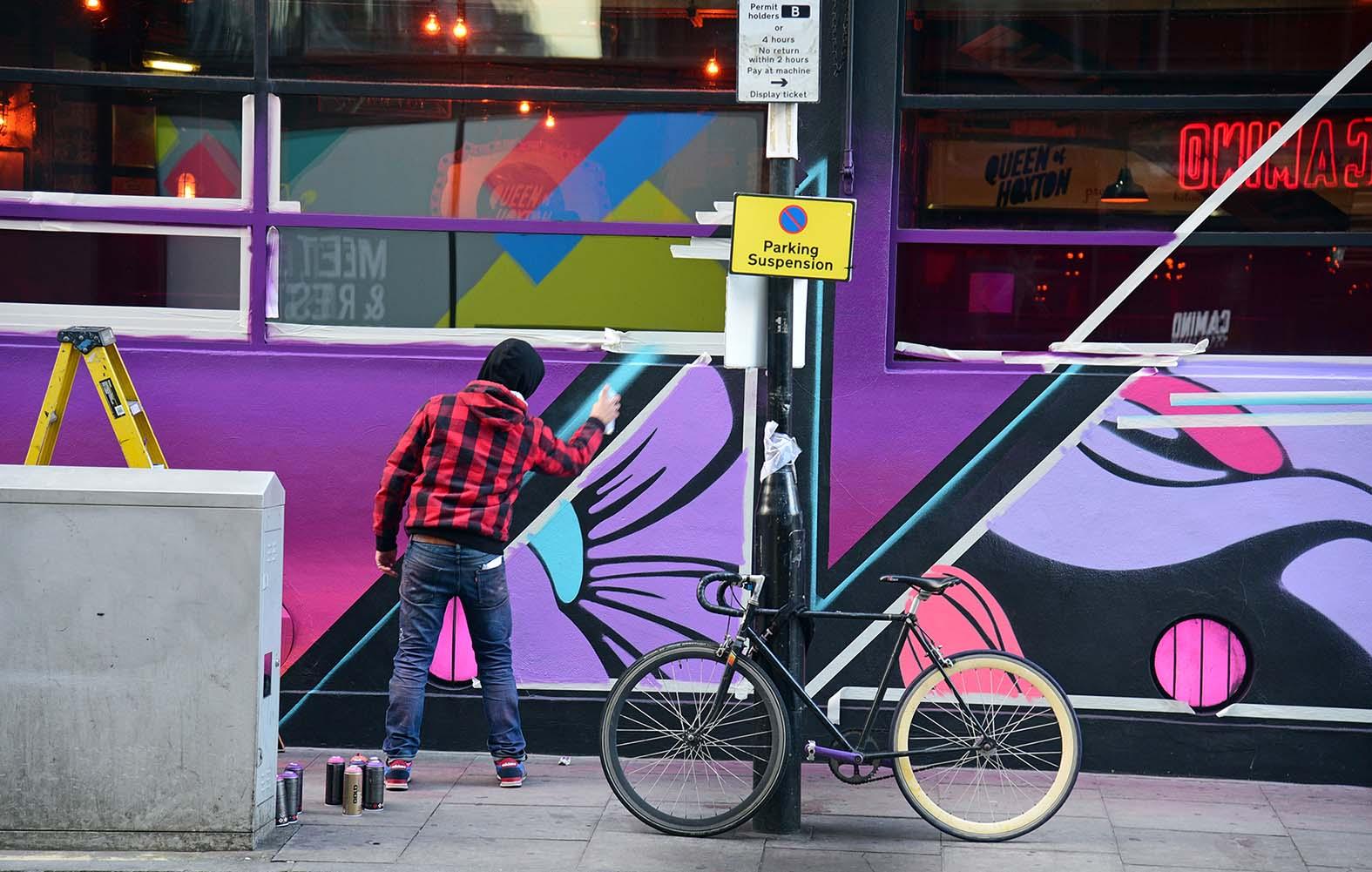 Nerone,street-art-queen-o-hoxton-london 11