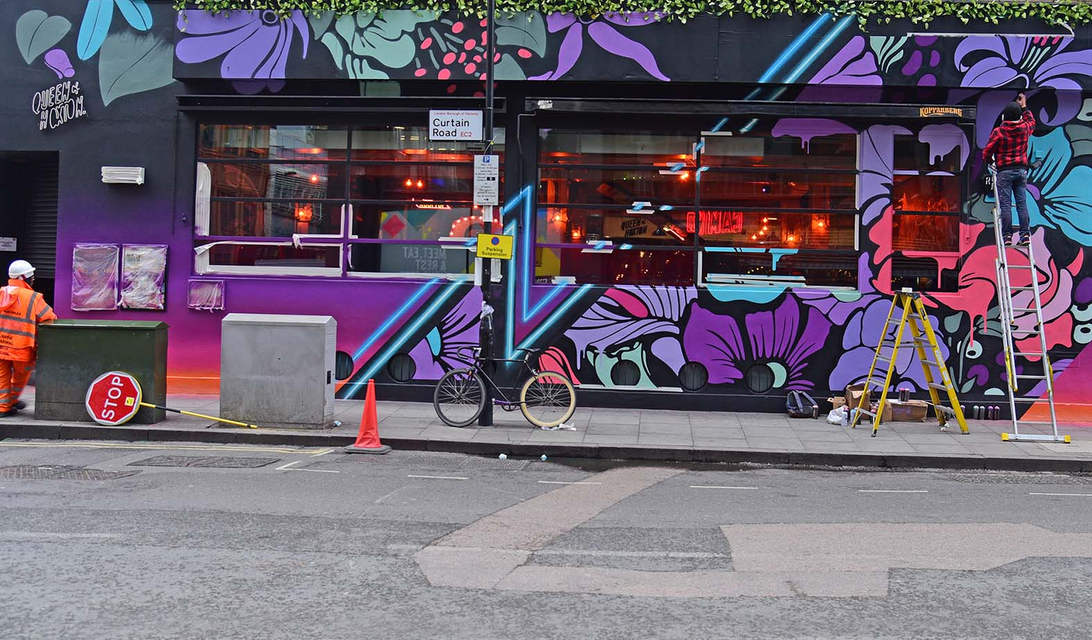 Nerone,street-art-queen-o-hoxton-london 18