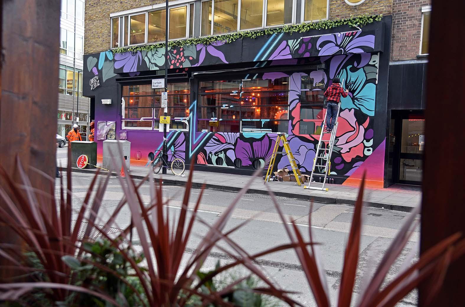 Nerone,street-art-queen-o-hoxton-london 19