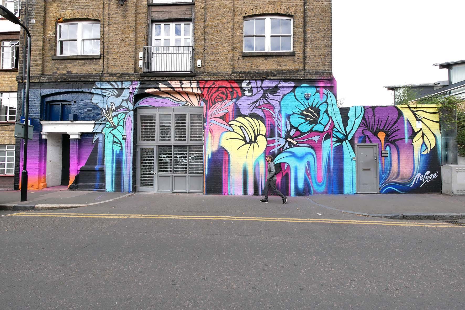 nerone-global-street-art-london-flowers