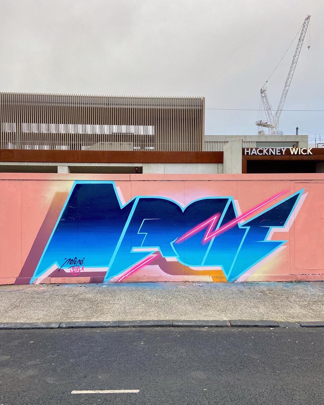 Nerone London Graffiti-2
