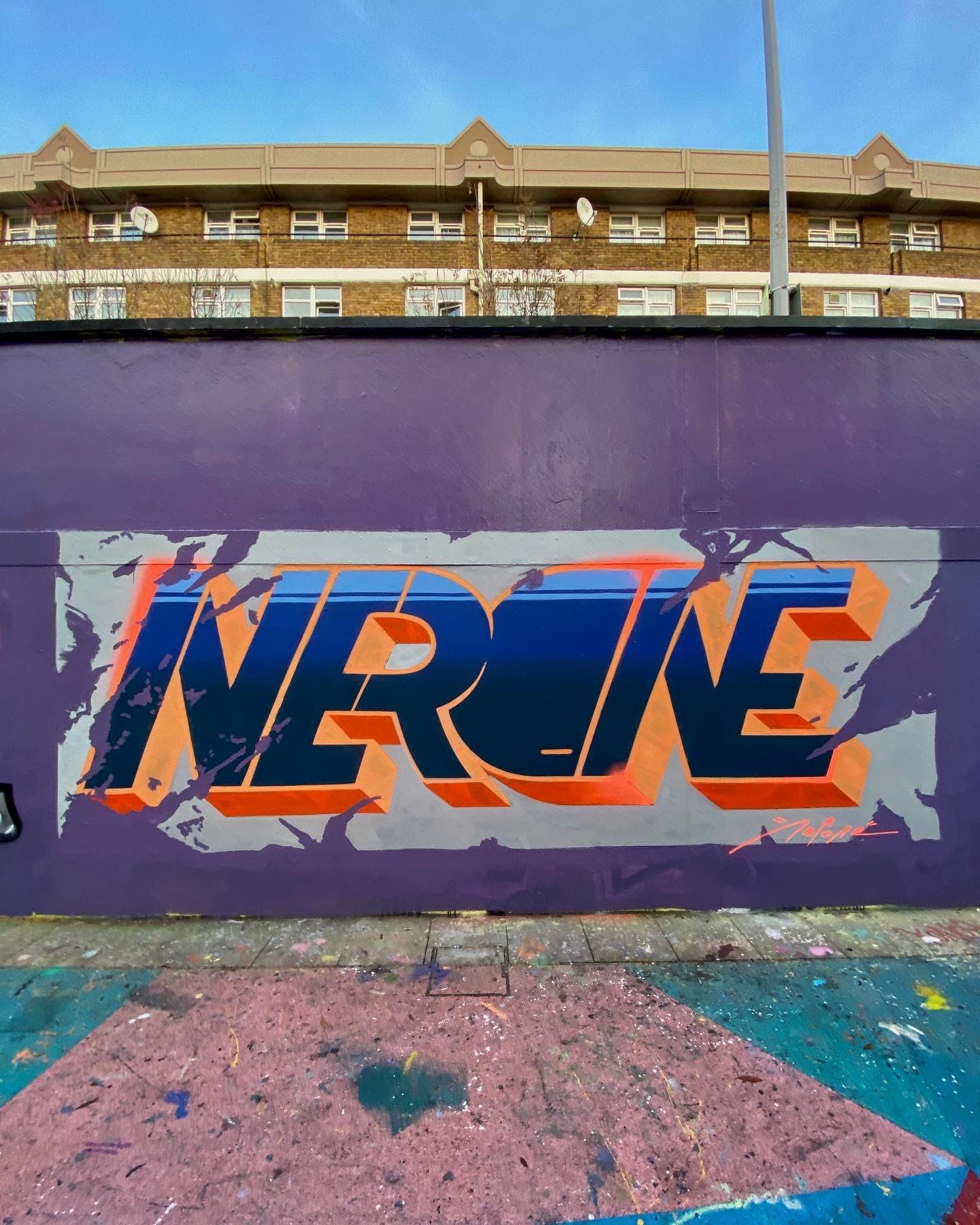 Nerone London Graffiti-3