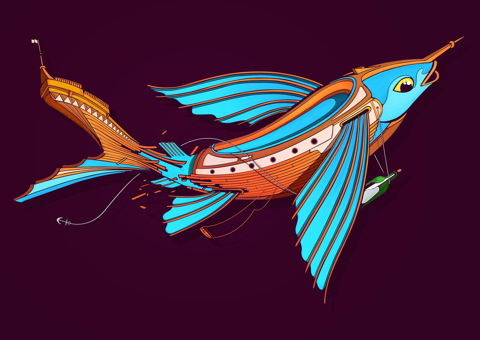 Nerone-fishboat-bordeaux-street-art-4