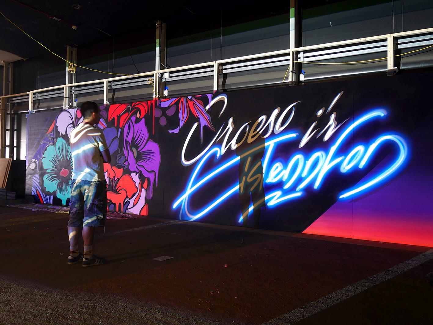 Nerone-street-art-Cardif-neone 2