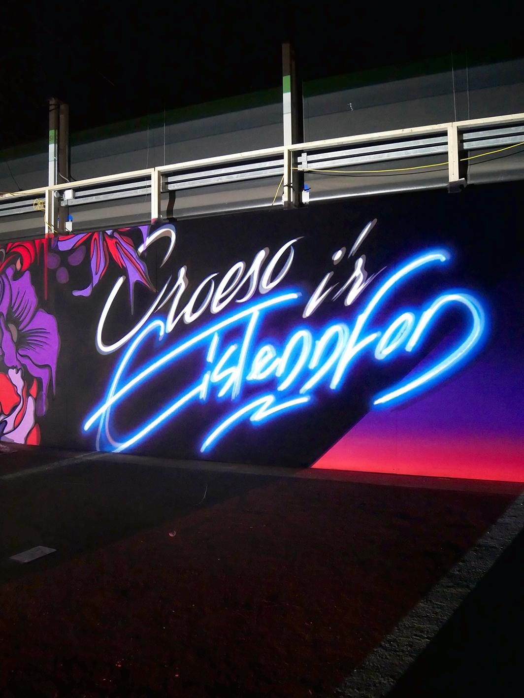 Nerone-street-art-Cardif-neone 3