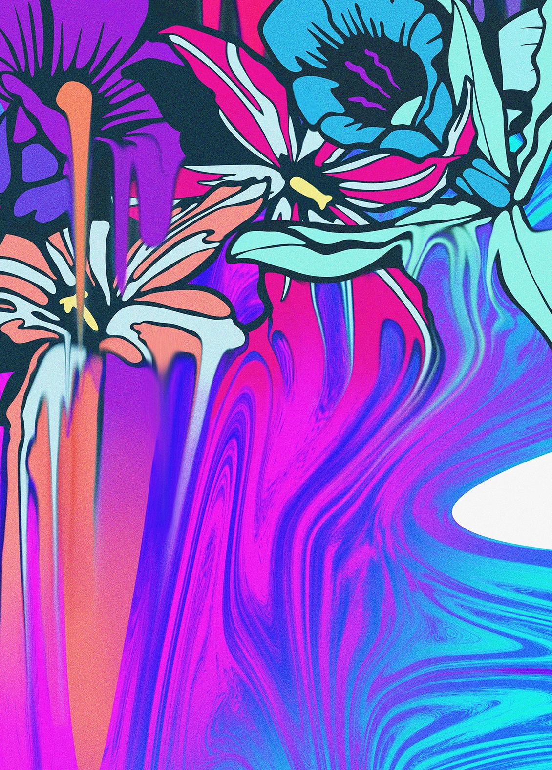 nerone-illustration-flowers-print
