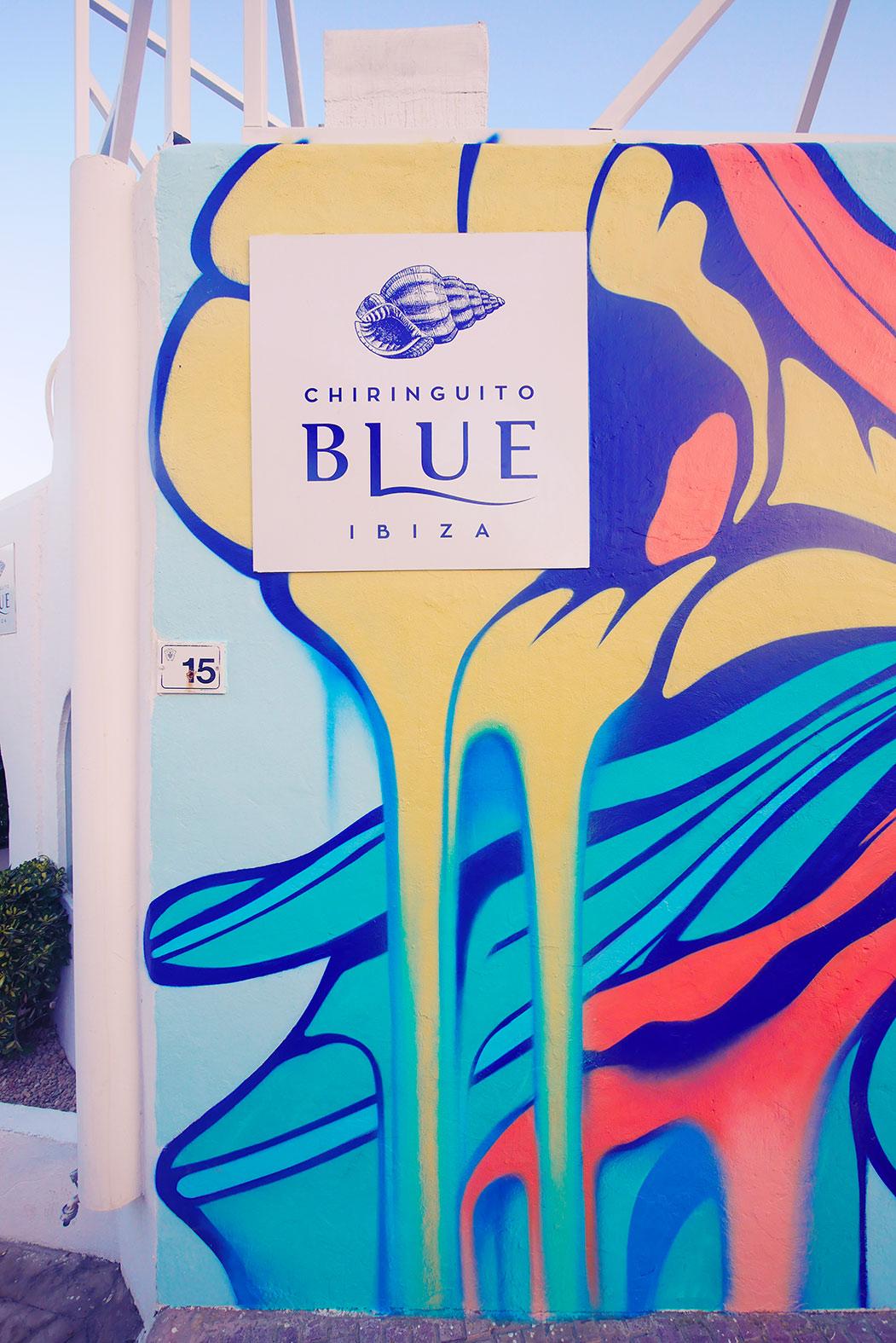 Nerone Painting Chiringuito Blue
