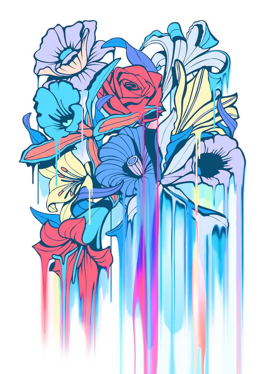 Nerone Dripping flowers 3